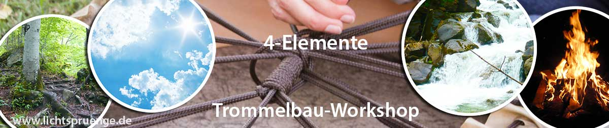 4-Elemente-Trommelbau-Workshop